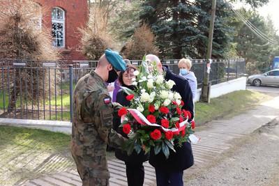 Galeria W Charbielinie uczczono ofiary Marszu Śmierci